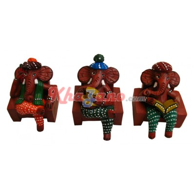 Set of 3 Ganeshji