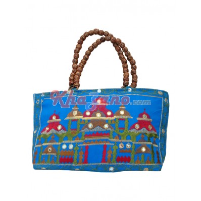 Cotton Silk Manaka Handbag