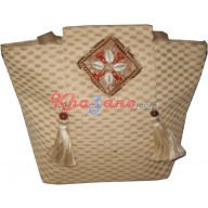 Jute Balti Bucket Bag