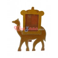 Wooden Camel Photo Frame