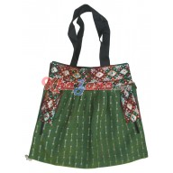 Fancy Silk Tikki Handbag