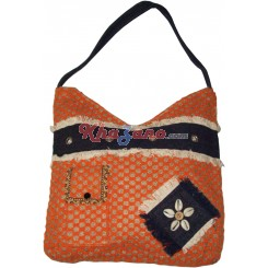 Jute Tussar Silk Bag