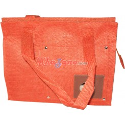 Jute Cotton Square Bag