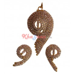 Pendant Earrings Set