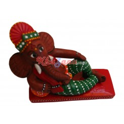 Ganeshji Seating on Bed