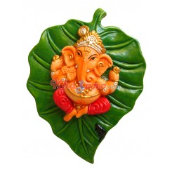 Ganeshji on Leaf