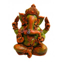 Orange Green Ganeshji