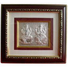 Ganeshji and Laxmiji in Frame